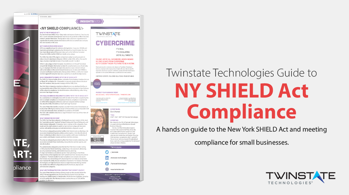 """Call-to-action: Read Now """"ny shield act compliance guide"""""""