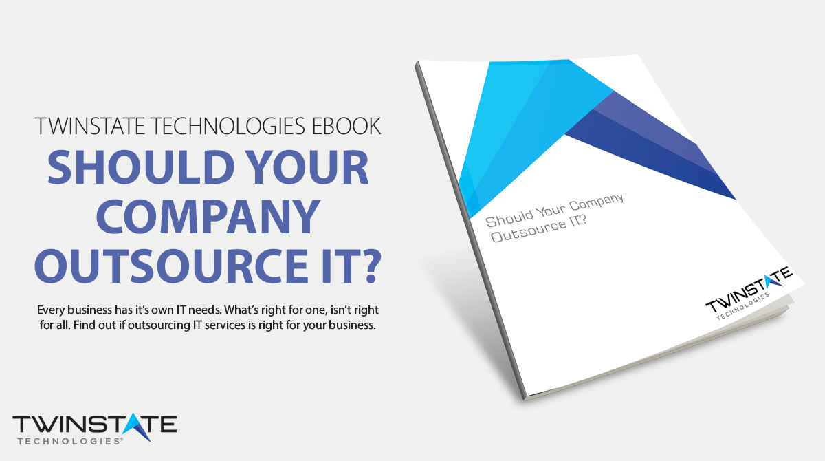 """Call to Action: """"Should Your Company Outsource IT?"""" - Download ebook now."""