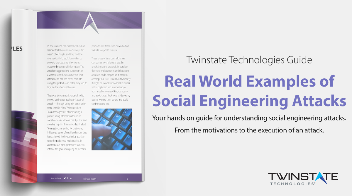 Call to Action: Real Examples of Social Engineering - Download Now.