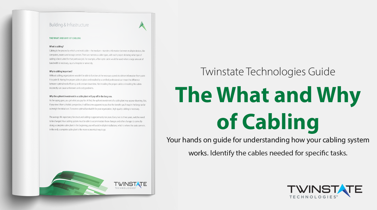 Call to Action: The What and Why of Cabling - Download Now